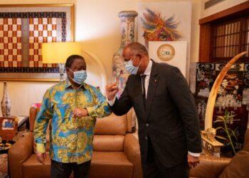 Henri Konan Bédié, Président du Pdci Rda, reçoit des salutations fraternelles du Président Alassane Ouattara, et les condoléances du Premier ministre Patrick Achi.