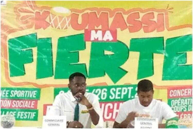 """Koffi Benoît commissaire général du Festival """" Koumassi Ma fierté"""" a indiqué que l'objectif dudit festival est de réunir les filles et fils de Koumassi. Il l'a fait savoir le vendredi 16 juillet 2021 au cours d'une conférence de presse dans cette commune."""