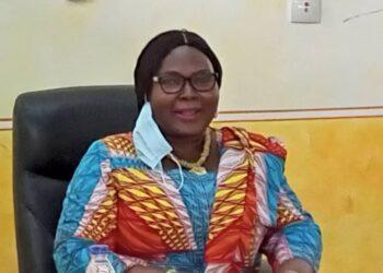 Kouassi N'Goran Thérèse épse Brou, Directrice générale du centre régional des œuvres universitaires (Crou) de Bouaké a tenu un point presse le jeudi 22 juillet 2021 pour réagir contre l'initiative des syndicalistes qui l'accusent de mauvaise gestion et menacent d'entrer en grève.
