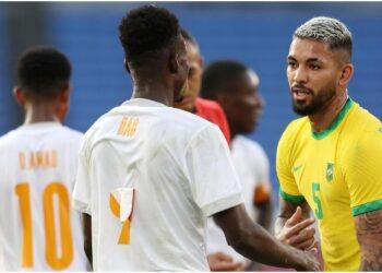 La Côte d'Ivoire a tenu en échec le Brésil (0-0), le dimanche 25 juillet 2021 au stade international de Yokohama en match comptant de la 2ème journée dans le groupe D pour le tournoi masculin de football des Jeux Olympiques de Tokyo.