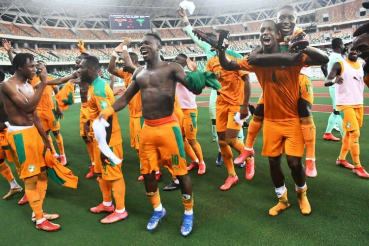 Pour sa première sortie en match de groupe D des Jeux Olympiques Tokyo 2021 de football, la Côte d'Ivoire a battu l'Arabie Saoudite 2-1 à Yokohama jeudi 22 juillet 2021 et arrache les trois points de la rencontre.