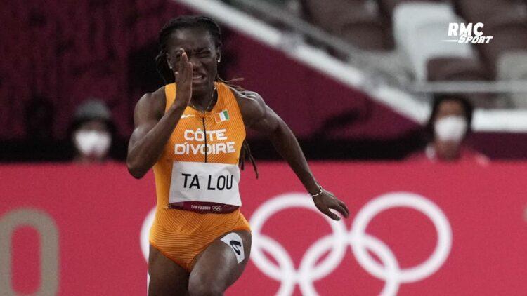 L'athlète ivoirienne, Marie Josée Tah Lou a raté une médaille en finale des 200 mètres d'athlétisme, mardi 3 août 2021 aux Jeux Olympiques de Tokyo. Elle a réalisé un chrono de 22 secondes 27 centièmes, se classant en 5ème position sur huit athlètes alignées.