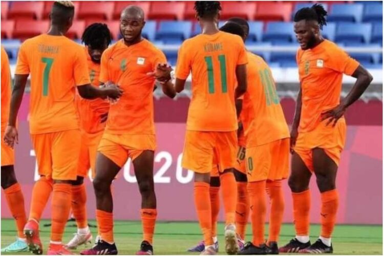 La Côte d'Ivoire a raté une qualification historique pour les demi-finales des Jeux Olympiques en football après sa défaite en quart de finale devant l'Espagne (5-2) samedi 31 juillet 2021 à Tokyo. Comme en 2008, la sélection olympique ivoirienne s'arrête à ce stade dans cette épreuve.