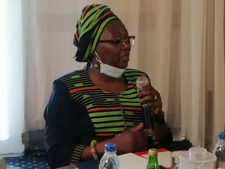 Au cours d'un petit-déjeuner de presse lundi 6 septembre 2021 au Sofitel Hôtel Ivoire à Abidjan, la présidente du Comité de Normalisation de la FIF (CN-FIF), Mariam Dao Gabala a exhorté les Ivoiriens à se mobiliser derrière les Éléphants pour les différentes campagnes.