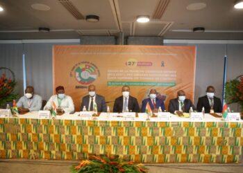 Adama Coulibaly, ministre de l'Économie et des Finances a félicité la Loterie nationale de Côte d'Ivoire (LONACI) pour l'augmentation de son chiffre d'affaires de 37,61% entre 2019 et 2020, malgré l'impact de la crise sanitaire de la COVID-19 sur l'ensemble des secteurs de l'économie. C'était le lundi 20 septembre 2021 au lancement de la 27e édition du tirage de la Tranche Commune Entente (TCE) des loteries nationales du Conseil de l'entente à Abidjan.
