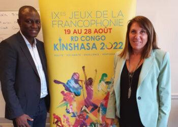 Délégué Technique Football pour les Jeux de la Francophonie de Kinshasa 2022, Sory Diabaté a été reçu lundi 13 septembre 2021 à Paris par Mme Zeina Mina, la Directrice du Comité International des Jeux de la Francophonie.