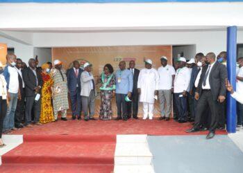 Dr Wenceslas Lenissongui-Coulibaly, président de conseil d'administration de la Loterie nationale de Cote d'Ivoire a invité les populations à ne jamais perdre de vue l'esprit qui habite l'établissement sanitaire. C'était le mercredi 22 septembre 2021 à l'occasion de l'inauguration du centre de santé urbain d'Abbé Broukoi offert par les loteries nationales des pays-membres du Conseil de l'Entente dans la commune d'Abobo.