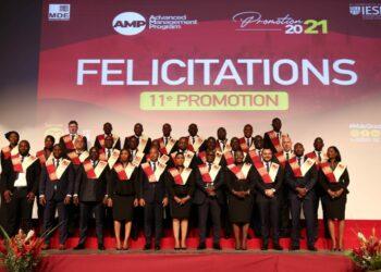 Le 23 octobre 2021 s'est tenue la cérémonie de graduation de la promotion 2021 du Program for management development (Pmd) de Mde business school au Sofitel Hôtel Ivoire. Ce sont au total 32 personnes qui ont reçu leurs diplômes.